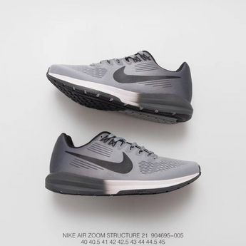 6876cf224686 604695 402 Fsr Nike Air Zoom Structure 21 Mesh Breathable Light Men s  Sports Trainers Shoes