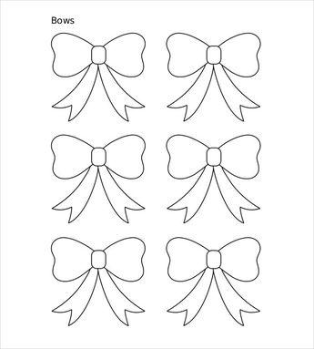 Paper Bow Template | Elif Caglar Altunel Alaraltunel Pinterest Profile Analytics