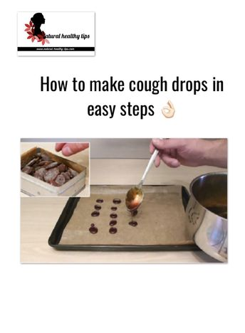 How to make sweet and healthy homemade cough drops