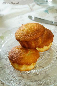 Gâteaux fondants à la noix de coco