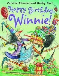 Books should be free for everyone: Happy Birthday, Winnie! (Winnie the Witch)