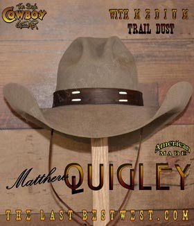 7048b78d9a0 Cowboy hats. Our beaver cowboy hats are made by hand in the USA starting  with