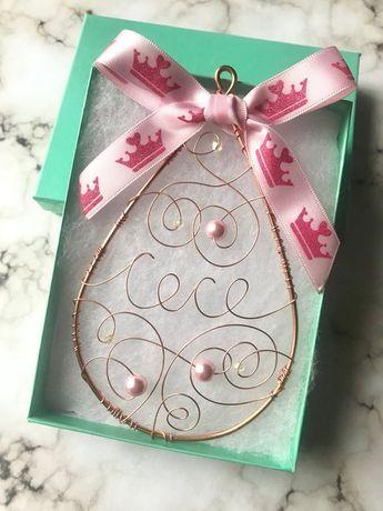 Granddaughter Ornament 1st Birthday Gift For Goddaughter Christmas Niece Bib First Girl