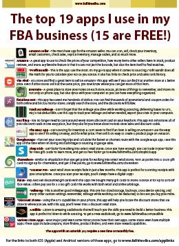 The Top 19 App Links I Use In My FBA Business (15 are Free!) - Full-Time FBA