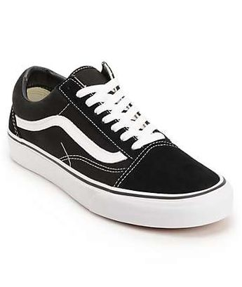 Vans Old Skool Black   White Skate Shoes (Mens) Size  ... 590716afba82b