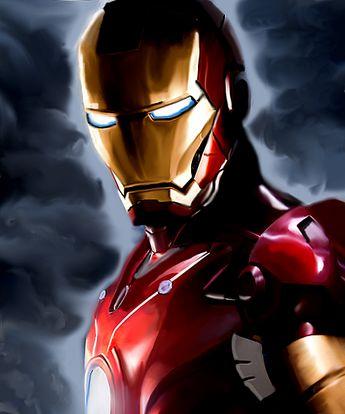 Iron Man painting by MelMelArt on DeviantArt