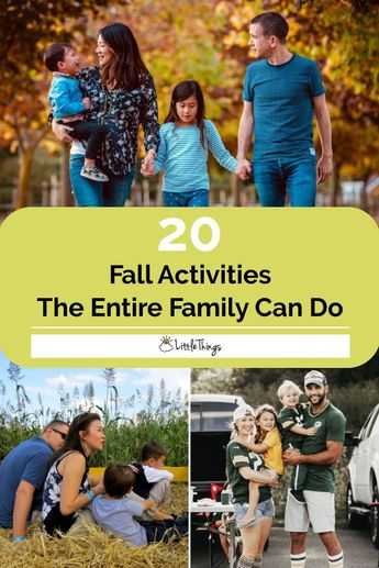 20 Autumn Activities The Entire Family Can Look Forward To This Fall