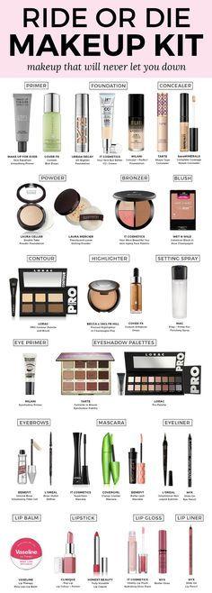 Ride or Die Makeup Kit