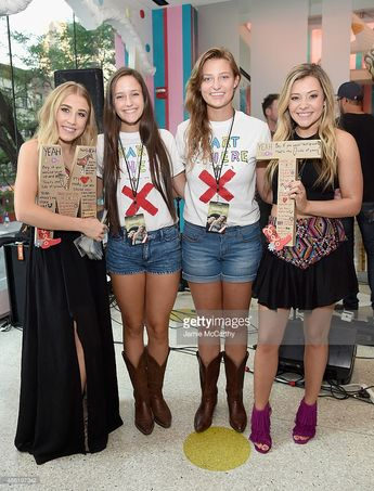 Maddie & Tae attend the Maddie & Tae Album Release Party at Dylan's...
