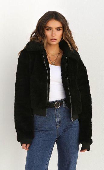 Women Casual Faux Fur Teddy Bear Coat Winter Jacket