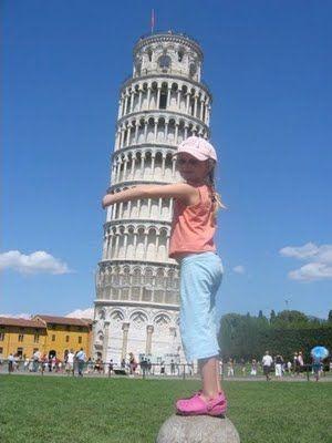 La Tour de Pise...on a un penchant pour elle !