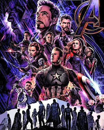Avengers Endgame (My Poster) . Art by @chrisj.art . . . #fanarts #fanart #drawingbyme #drawing #draw #marvel #marvelstudios #avengers #avengersendgame #guardiansofthegalaxy #wakanda #captainamerica #ironman #blackwidow #thor #hulk #hawkeye #nebula #all