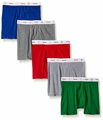 1a56551f8e83 Hanes Boys' Toddler 5-Pack Boxer Brief #Unbranded