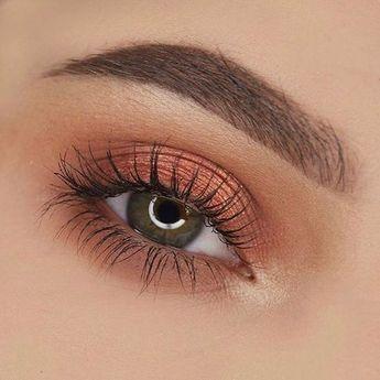 Maquillage des yeux en cuivre  #cuivre #maquillage