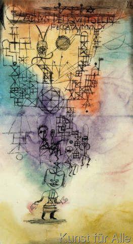 Paul Klee - Agnus Dei, qui tollis peccata mundi (64,0 x 117,0 cm)
