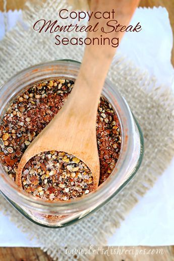 Copycat Montreal Steak Seasoning (try adding Worcestershire powder to this mix)