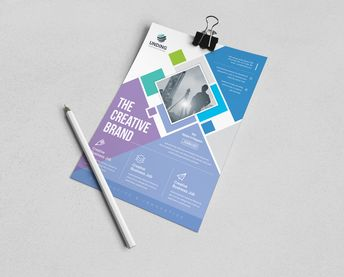 Neptune Stylish Premium Business Flyer Template - Graphic Templates