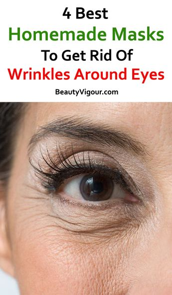 Homemade Recipes to Get Rid Of Wrinkles around Eyes