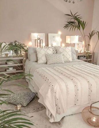 Creative ways beautiful white minimalist bedroom furniture 12
