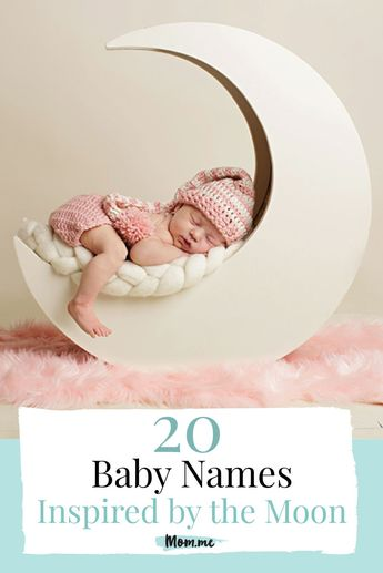 20 Baby Names Inspired by the Moon: We've scoured the world to make this list of moon-inspired names for boys and girls (as well as some gender neutral names) to give expecting parents inspo for their little ones.