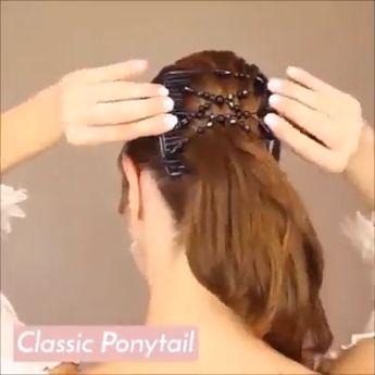 2Pcs Magic Stretch Hair Comb