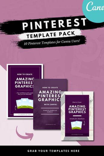 Canva Pinterest Graphics Pack