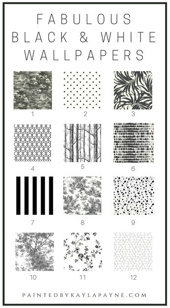 Fabulous Black and White Wallpapers