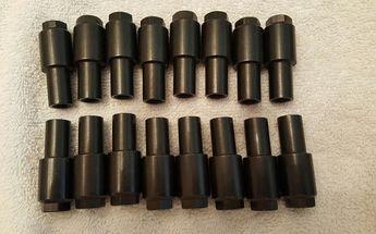 """Jomar Engine Rocker Arm Nut 1410; 3//8/""""-24 .550/"""" Stud Girdle Adjustment Nut"""