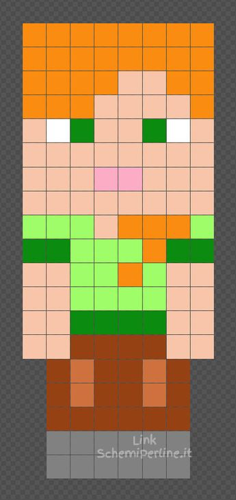 List Of Attractive Pyssla Minecraft Ideas And Photos Thpix