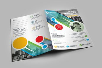 Colorful Presentation Folder Template 002886 6