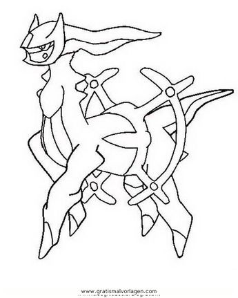 Legendary Pokemon Pictures To Color Through The Thousands