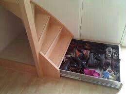 Lades In Trap : Ruimte onder trap