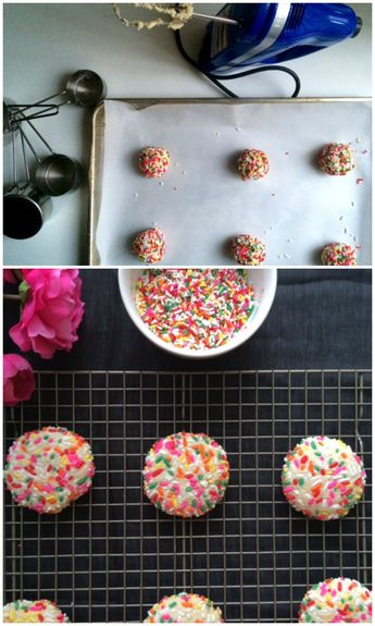 Confetti Cookies from Queen Smithereen