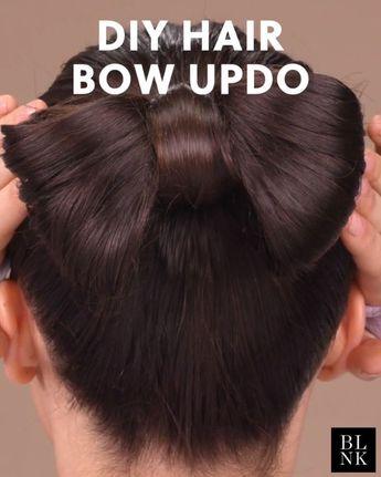 Wie mache ich einen Hair Bow Updo #Hairbow #Hairtutorial #updos #bowhairstyle