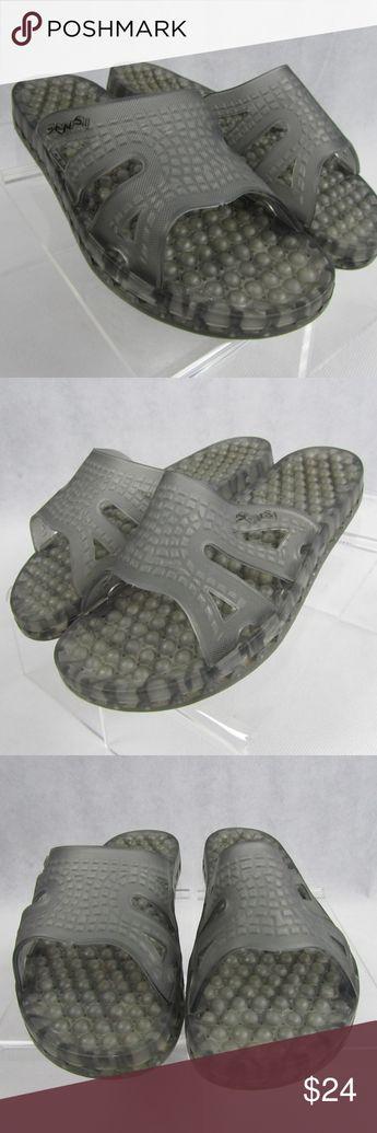 032e2e68cfdce2 Sensi Assisi 8 EU 38-39 Italian Gray Slides Sandal Sensi Assisi Slides Sandals  Women s