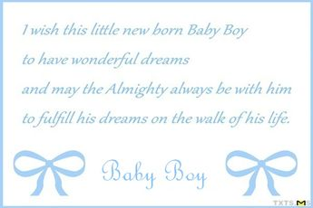Congratulations Quotes For New Baby Boy