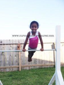 Diy Gymnastics Bar Balance Beam For Under 100 00 Our