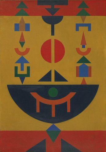 Rubem Valentim, Composição 12 [Composition 12],(1962).