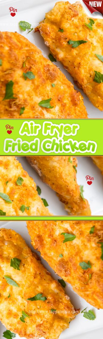 Air Fryer Fried Chicken Recipe The one exception might be if you like a very thick breading on your fried chicken. If you double dip your chicken in flour for the coating its going to be hard to hydrate all that flour in an air fryer and youll almost certainly end up with floury spots that havent really cooked.