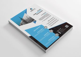 Rental Corporate Business Flyer Design - Graphic Templates