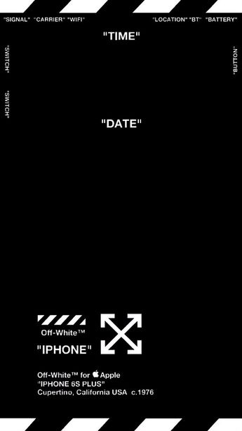 Off White Iphone 55s Wallpaper App