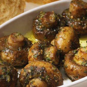 Garlic & Butter Roasted Mushrooms