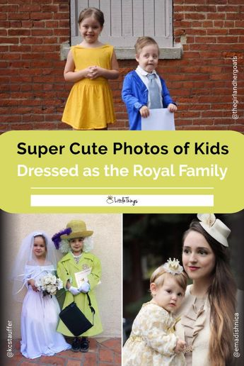 Kids Dressed as the Royal Family Are Winning Halloween: These royal-inspired Halloween costumes for little ones are on point and oh-so-cute.