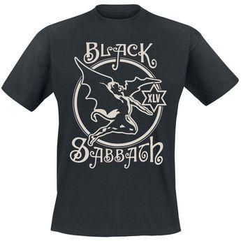 2ec6160cb5 Black Sabbath - 45th Anniversary - con dibujo delantero - cuello redondo -  manga corta