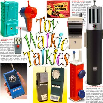 Walkie Talkies collector book: Vintage string phones to transistor transceivers! | eBay This is an affiliate link. If you purchase through this link I receive a small commission at no extra cost to you. Thanks for your support!