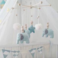 Diy Anleitung Fliegende Nilpferde Als Mobile Häkeln Kinde