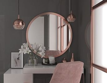 45 Touch of Art in Minimalist Dressing Table