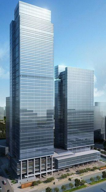 Suzhou International Fortune Plaza, Suzhou, China by Kohn Pedersen Fox Associates (KPF) :: 44 floors, height 230m