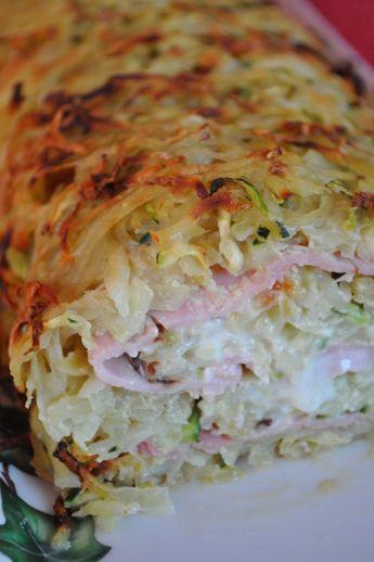 Roulé pomme de terre courgette chèvre coulant et parfumé... un délice - Blog cuisine avec du chocolat ou Thermomix mais pas que