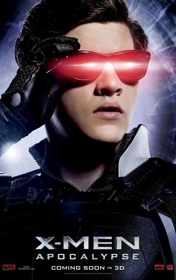 Tye Sheriden as Cyclops in X-Men: Apocalypse